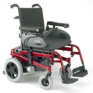 Standard powered wheelchairs