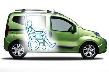 Brook Miller Fiat Qubo 13TD Multijet Lounge  Motability Scheme