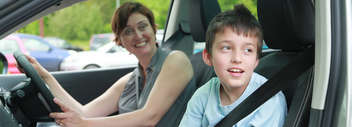 Boy-and-mother-in-Motability-car
