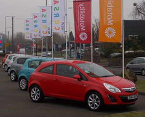 Cars-on-display-at-Greenhous-Telford-Motability-event
