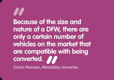 WAVs a wheelchair user can drive | Motability Scheme