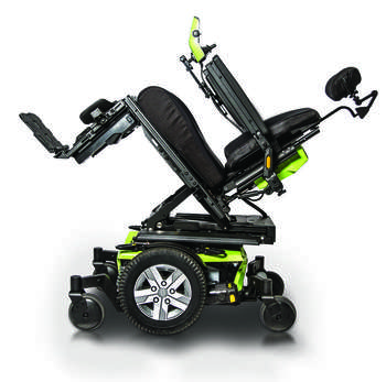 Pride - Q6 Edge 2.0 - TB3 Seat/Power Tilt
